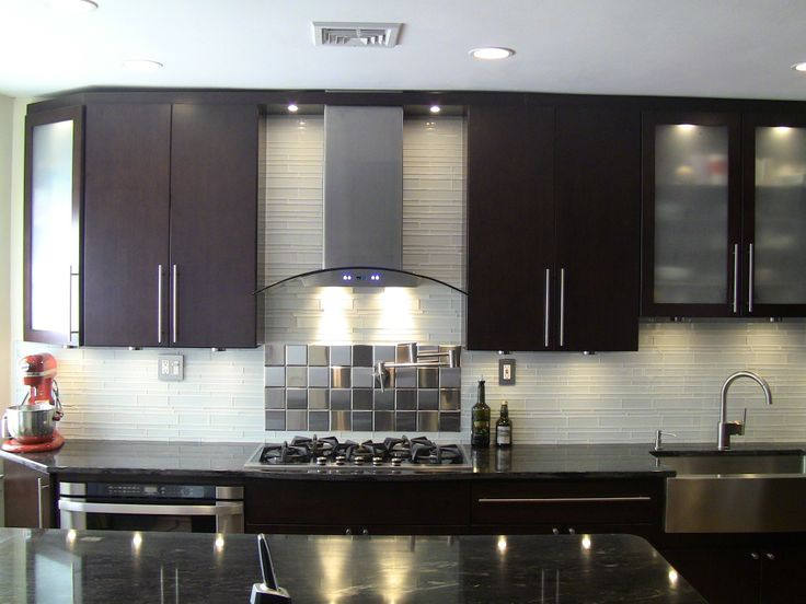Find This Pin And More On Kitchen Backsplash Ideas By TileBar. White Glass  Tile ...