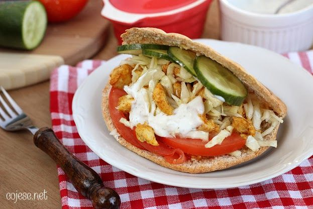 Kebab dietetyczny | Zdrowe przepisy Pauliny Styś