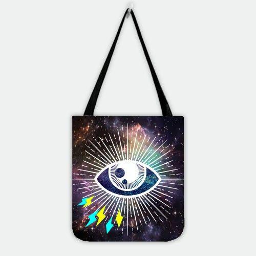 Galaxy In Sight Shopper Tote Bag.