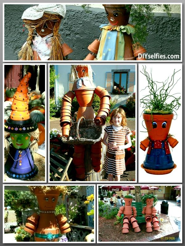70 best images about clay pot kids on pinterest clay pot for How to make clay pot people