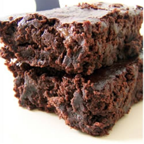 Vegan Brownies...WAY too oily the first time I made them. Try with vegetable shortening, applesauce, or pumpkin next time.