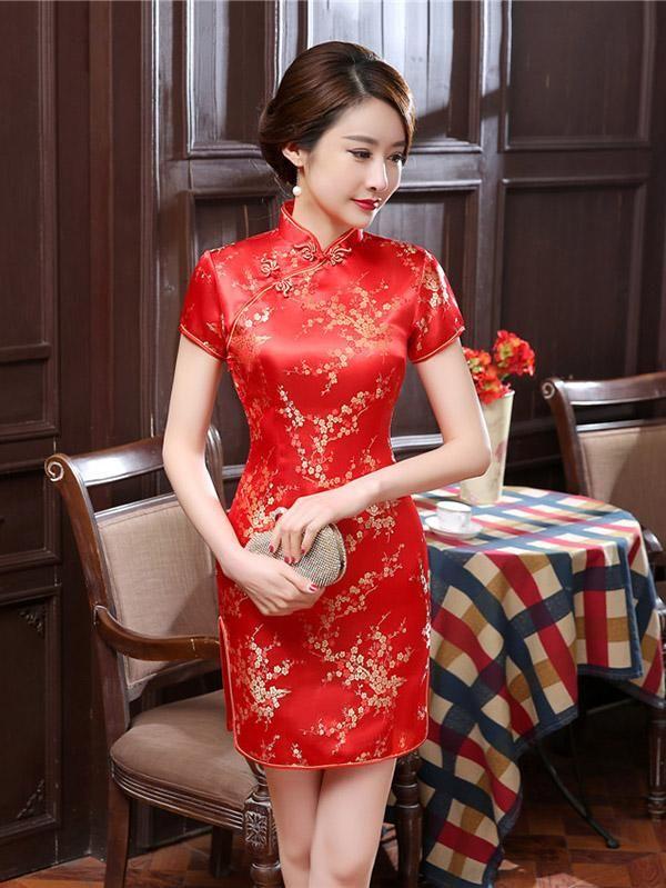chinese dress short