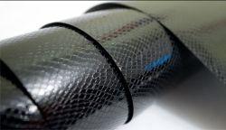 Автопленка черная кожа змеи под лаком/Black snake skin imitation - Авто-Стайлинг Гараж, купить автопленки в Украине, оклейка автовинилом, Автопленка черная кожа змеи под лаком/Black snake skin imitation