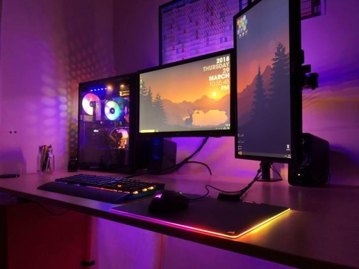 Imgur Com Room Setup Gaming Room Setup Interior Paint
