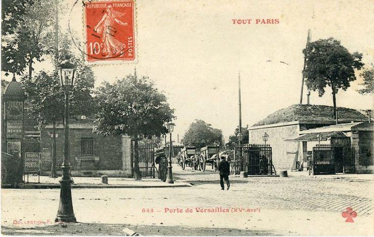 Panorama de Portes de Paris, fortifications et enceinte de Thiers