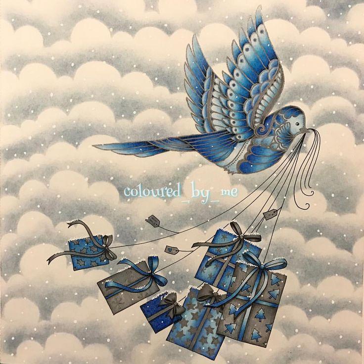 Pin By Nancy Vigil On Johannas Christmas Johanna Basford