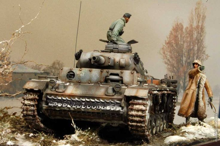 Diorama from Master Miniatures