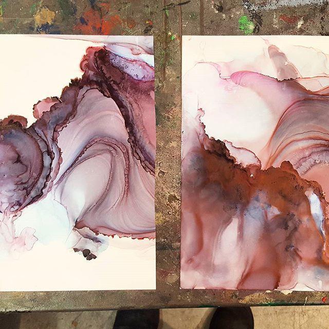 (Pour Art Acrylic Paintings)