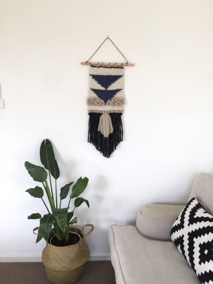 Hand woven wall art by Swaysmade on Etsy https://www.etsy.com/au/listing/473514417/hand-woven-wall-art