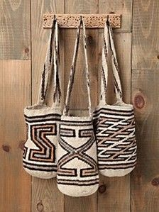 "#colombia tipical bags made by  the #arhuaco indians from la ""Sierra Nevada called ""mochilas"" For My handmade greeting cards visit me at My Personal blog: http://stampingwithbibiana.blogspot.com/"