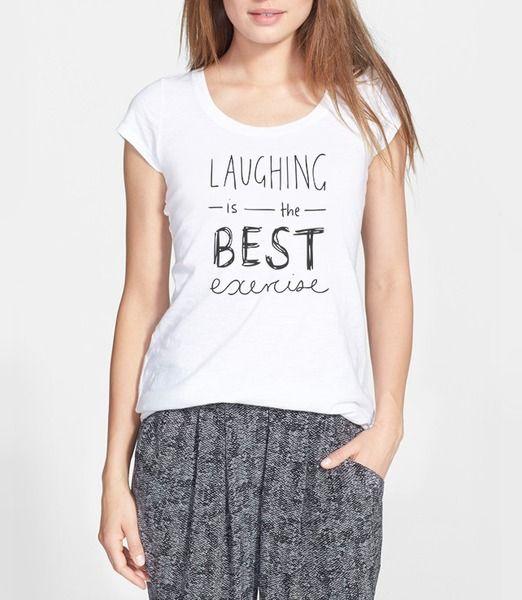 Laughing is the best de Way Back sur DaWanda.com