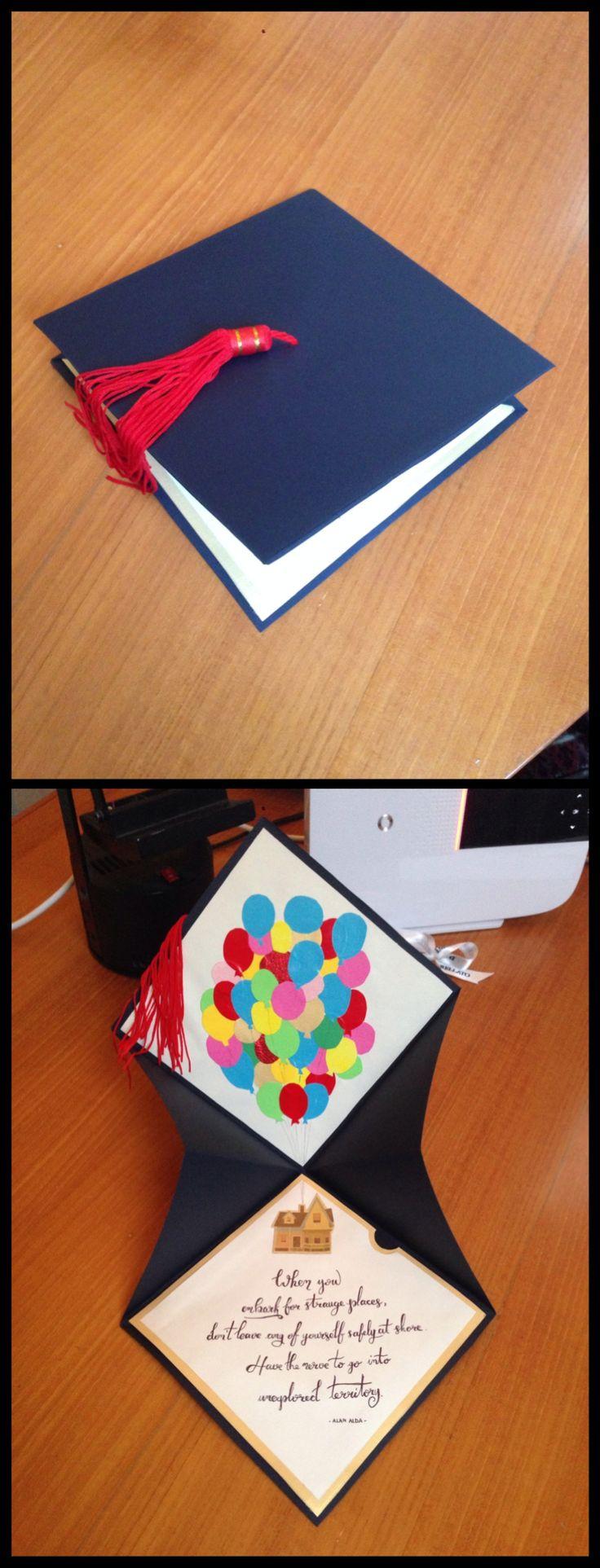 Graduation gift card | Biglietto di congratulazioni per Laurea