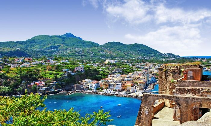 Bargain Late Holidays - Ischia Porto: ✈ Ischia: Up to 5 Nights with Flights, Breakfast and Optional Transfers Staying at 4* Strand Hotel Delfini