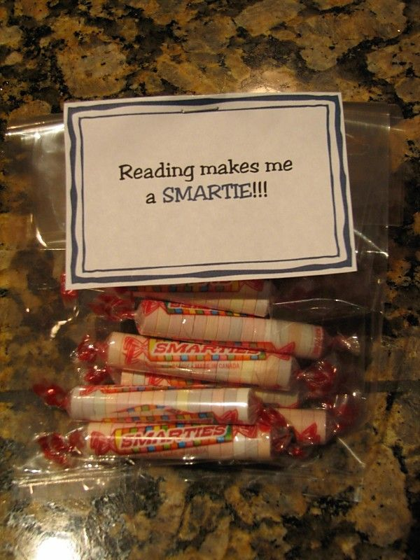 Could do this and for each 50-100 mins they get a smartie to put in pants. Also get a bag of smarties for them. See how long it takes to fill smartie pants.