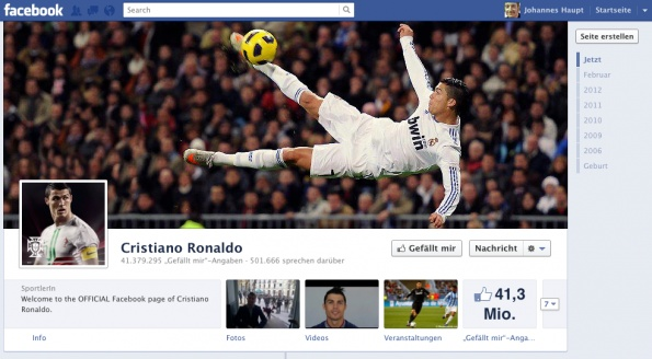Lukas Podolski zeigt, was Facebook-Marketing wert sein kann