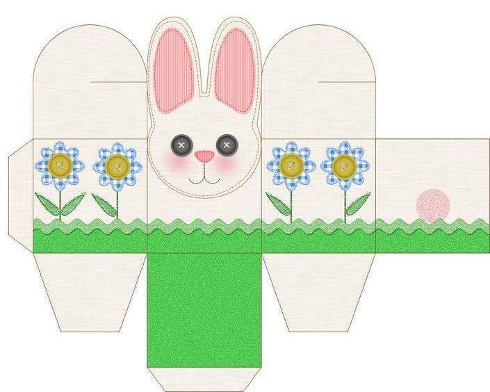 Caja conejo