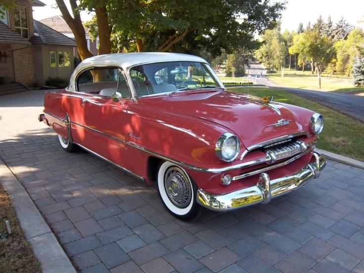 Woodys Auto Sales >> 1954 PLYMOUTH BELVEDERE 2 DOOR HARDTOP SANTA ROSA CORAL ...