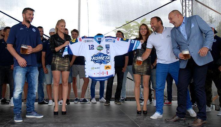 HC Kometa Brno 2015/16 jersey