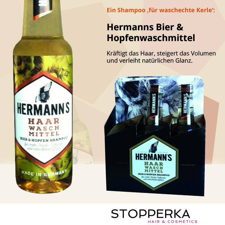 Bier Shampoo für echte Männer! Kräftigere Haare, mehr Volumen und natürlicher Glanz Bei uns bekommt Ihr Hermanns Haar Wasch Mittel: http://www.stopperka.de/catalogsearch/result/?o=Herrmann+s+biershampoo&q=Herrmann+s+bier+shampoo Stopperka Hair & Cosmetice Friseurbedarf Salonsupply