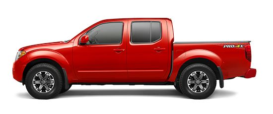 Photo of the Nissan Frontier Crew Cab PRO-4X® truck model.
