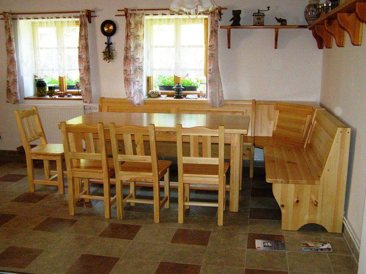 Truhlářství Seifert - Fotoalbum - Lavice,stoly,židle - Jídelní stoly a sestavy