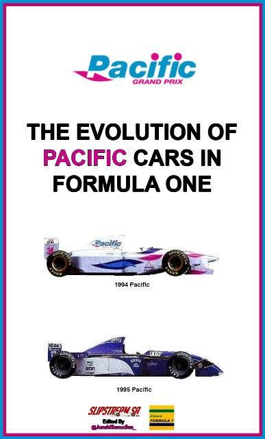 The Evolution of Pacific cars in Formula One