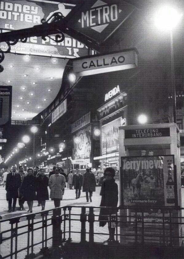 Metro Callao años 60, Madrid
