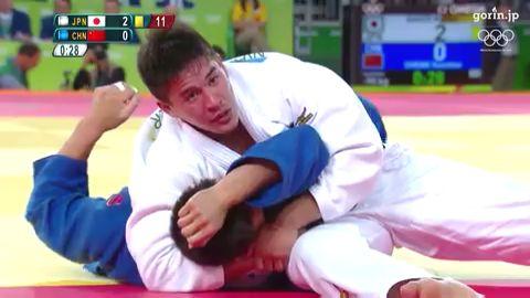 『VIDEO』JP.ONLY/柔道 男子90kg級準決勝 ベイカー茉秋 vs 程訓釗