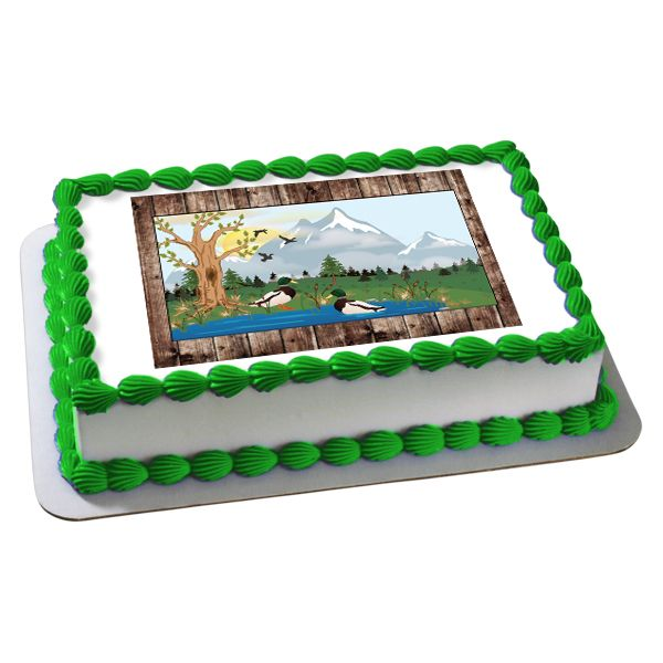Duck Hunting Cake Decorating Kit : 17 Best images about Camouflage and Hunting Party Ideas on ...