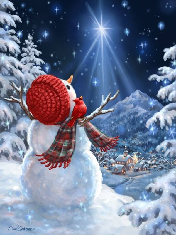 Snowman and the Star of Christmas