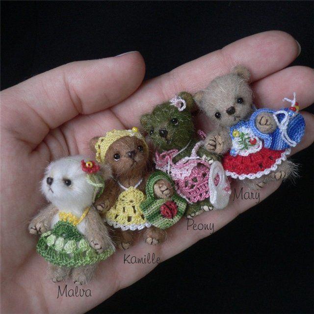 Мишки-цветочки. Обсуждение на LiveInternet - Российский Сервис Онлайн-Дневников