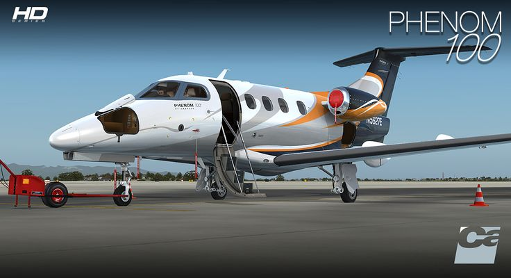 You Can't Go Past Just Flight's Canberra PR9 And Carenado's Phenom 100 For Your Weekend Simming!