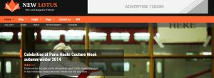 New Lotus – Download Premium Magazine WordPress theme