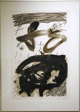 Calligraphique - Antoni Tapies