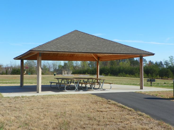 Small Park Shelters : Picnic shelter plans disc golf association flying