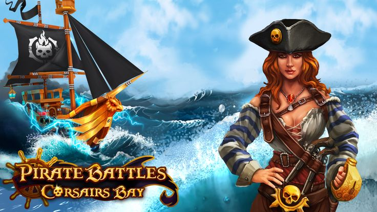 New #beautiful #character from the #online #strategy #game #Pirate Battles #Corsairs #Bay! Google Play: https://play.google.com/store/apps/details?id=com.herocraft.kodp