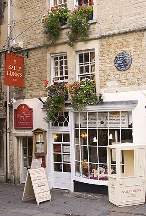 Sally Lunns Restaurant, Bath, Somerset
