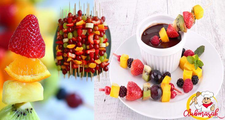 Resep Hidangan Buah Salad Buah Saus Cokelat, Makanan Sehat Untuk Diet, Club Masak