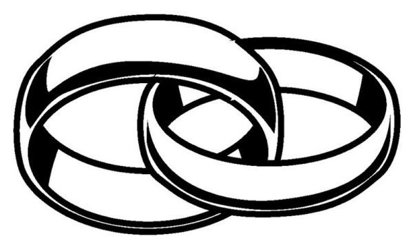 Wedding Rings Coloring Pages Printable Pdf Free Coloring Sheets Wedding Ring Clipart Wedding Ring Drawing Ring Sketch
