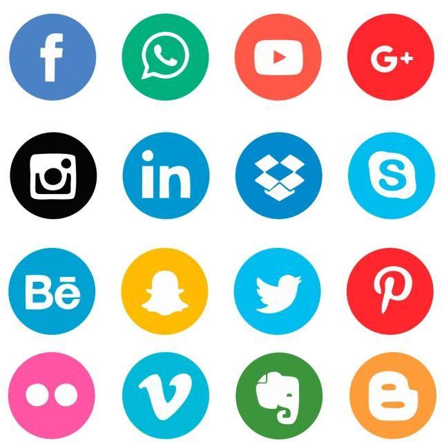 Logo De Redes Sociales Busqueda De Google Iconos De Redes Sociales Iconos De Los Medios Sociales Botones De Redes Sociales