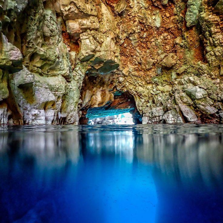 Odisejeva špilja  Mljet island national park, Croatia