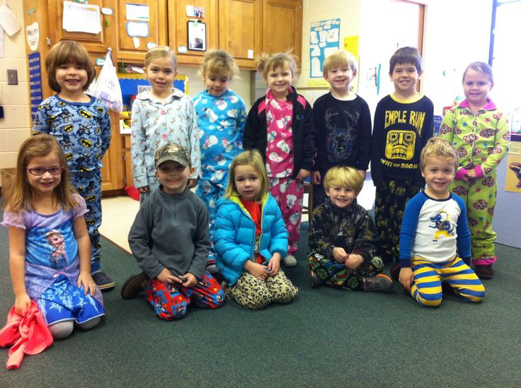 Polar express pajamas day
