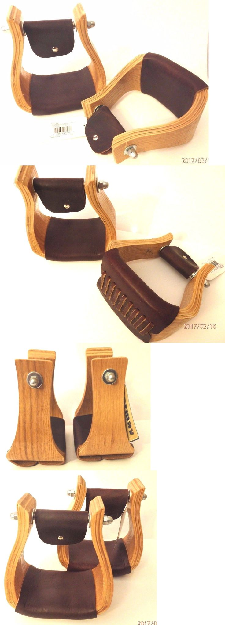 Stirrups 183412: Formay 1721564 Oak Wood 3 Neck Bell Stirrups 4 Tread,Western Horse Tack -> BUY IT NOW ONLY: $56.95 on eBay!