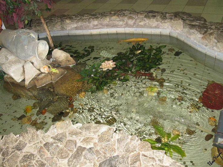 Мини-пруд в интерьере. Как сделать водоем в помещении своими руками