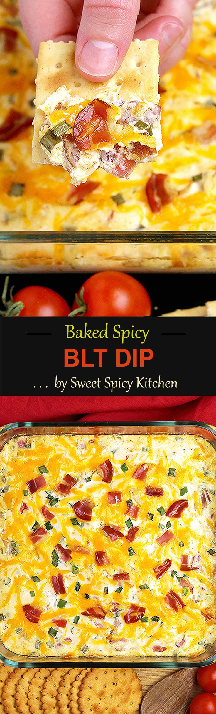 Baked Spicy BLT Dip Recipe