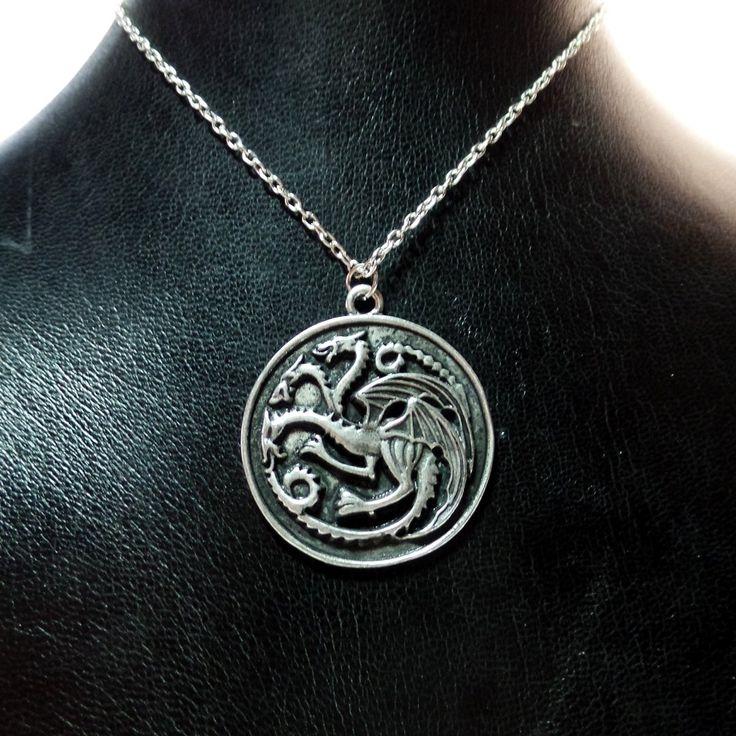 Colgante casa Targaryen - Juego de tronos
