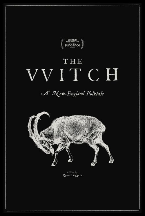 Midnight Marauder's poster for Robert Eggers's The Witch (2015).www.thewitchandblackphillip.com