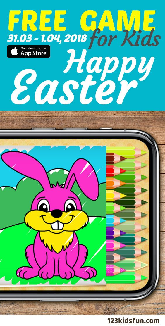 Free Ipad Iphone Apps For Kids 31 01 1 04 018 Easter Coloring