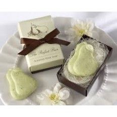 The Perfect Pair Scented Pear Wedding Favour Soap