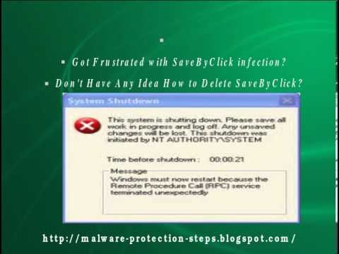 Video guide to help users remove SaveByClick adware out of the browser easily.